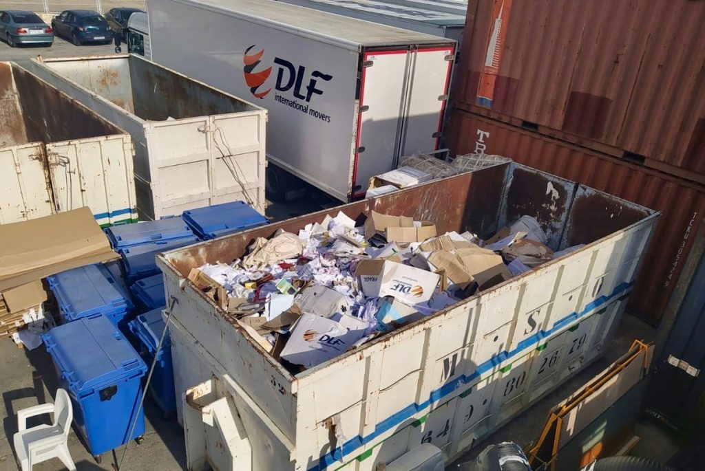 recycling containers dlf group